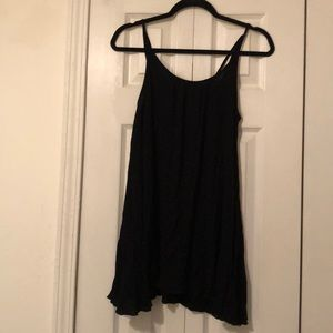 Black coverup with pockets